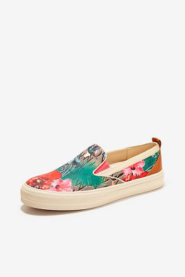 Tropical slip-on sneaker