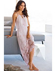 Rope Embroidered Maxi Dress Photo