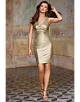 Metallic Twist Dress Photo