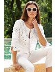 Mirror Embroidered Jacket Photo