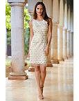 Sequin Scallop Dress Photo