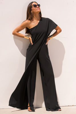 One Shoulder Jumpsuit I