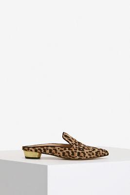 Leopard Slide Loafer