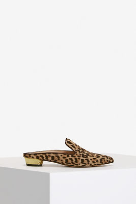 Leopard Slide Loafer