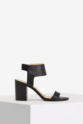 stretch ankle block heel