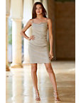 Metallic Ruched Dress Photo