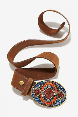 Stone buckle belt