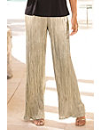 Metallic Pleated Pant Photo