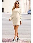Ruffle Sleeve Dress Photo