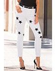 Star Stamped Skinny Jean Photo