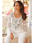 Sparkle Lace Blouse Photo