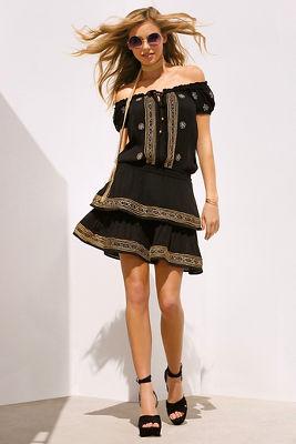 Embellished boho dress I
