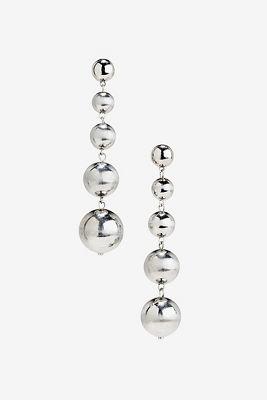 Bauble ball earrings