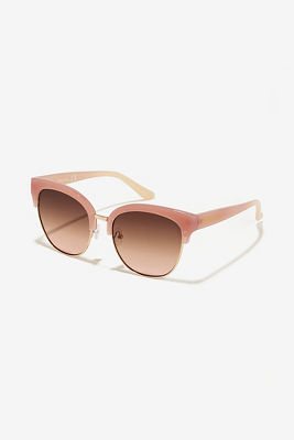 pink rose gold sunglasses