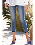 Amelia Rolled Hem Ankle Jean Photo