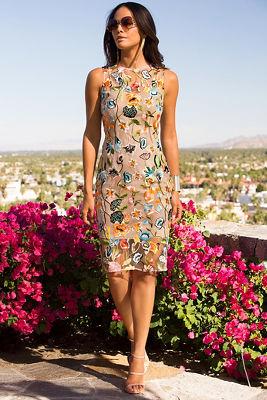 Floral vine dress