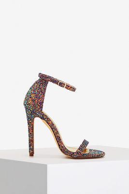 Multi glitter sandal