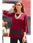 Travel Colorblock Tunic Top Photo
