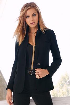 Classic suit blazer