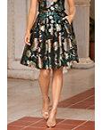Floral Jacquard Skirt Photo