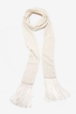 Velvet skinny scarf