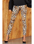 Back Zip Chic Leopard Pant Photo