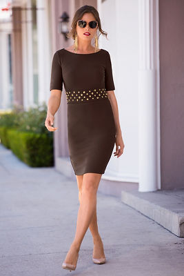 Beyond travel&#8482 grommet dress