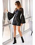 Flare Sleeve Lace Romper Photo