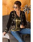 Velvet Embellished Jacket Photo