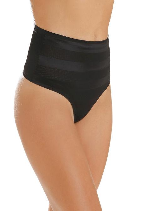 Mid waist thong shaper image