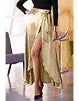 Metallic Wrap Skirt Photo