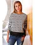 Striped Tulle Top Photo