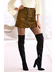 Leopard Ring Zipper Mini Skirt Photo