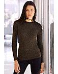 Metallic Sequin Detail Sweater Photo