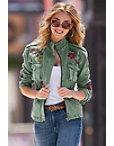 Twill Embroidered Jacket Photo