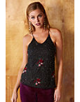 Floral Beaded Cami Photo