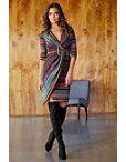 Metallic Stripe Dress Photo