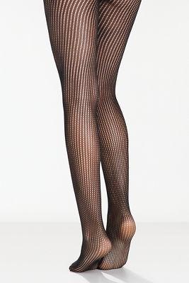 Stripe net tights