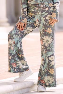 Antique floral sweatpant
