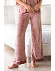 Easy Velour Wide Leg Lounge Pant Photo