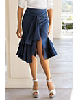 Ruffled Bow Skirt Photo