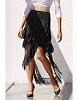 Asymmetric Ruffle Tulle Skirt Photo
