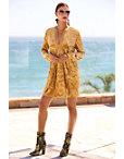 Boho Velvet Long-sleeve Dress Photo