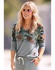 Camo Rose Sweatshirt Photo
