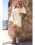 Flare Sleeve Sweater Dress Photo