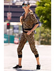 Leopard Jogger Set Photo
