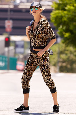 Leopard jogger set
