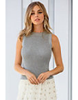 Shimmer Sweater Tank Top Photo