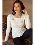 Pearl Necklace Sweater Photo