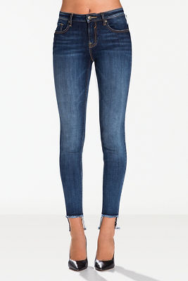 Step hem skinny jean